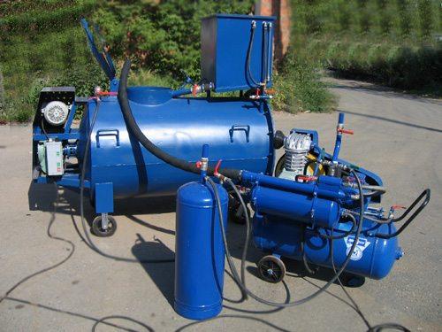 Оборудование для производства пенобетона в сборе