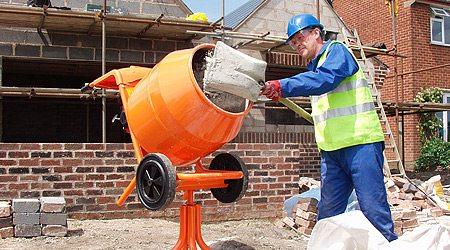 Оборудование для замешивания бетона