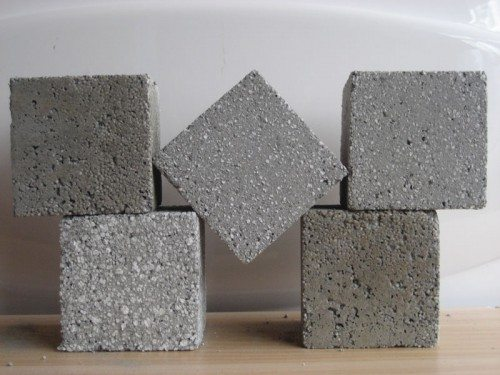 Образцы для определения качества бетона