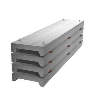 Образцы ребристых бетонных конструкций