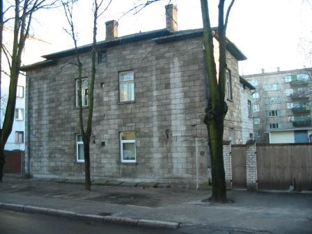 Один из старейших домов из автоклавного газобетона. Постройка - 1939 год, г. Рига.