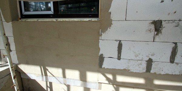 Оштукатуривание ячеистого бетона продлит его эксплуатационный срок