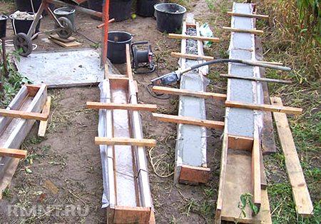 Оснастка для самостоятельного изготовления перемычек вне конструкции здания
