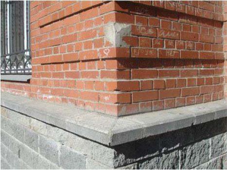 Остатки цемента серьезно портят внешний облик зданий