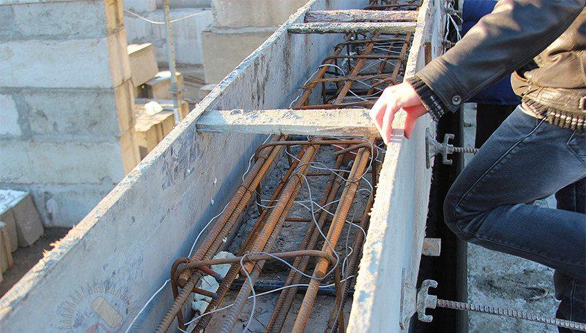 Осуществление электропрогрева бетонной конструкции в домашних условиях