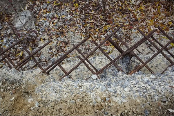 Осыпание бетона после замерзания