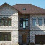 Отделка фасада дома из газобетона