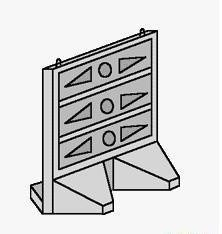 Панель бетонная с подошвой СО 24.25-160