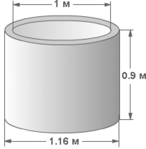 Параметры колец КС 10-9.