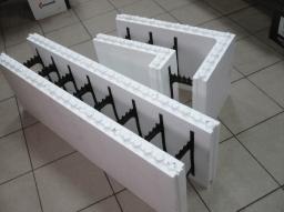 Пенопластовые блоки для заливки бетона разных вариаций