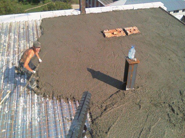 Монолитное перекрытие керамзитобетоном цементный раствор тех характеристики
