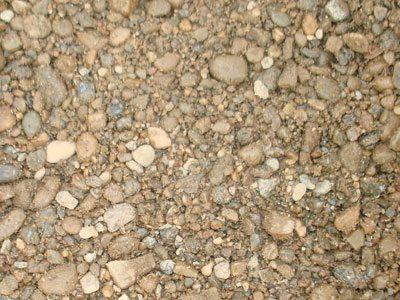 Песчано-гравийная смесь должна быть чистой – без примесей глины и чернозема