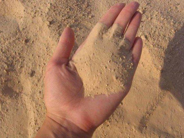 Песок для бетона