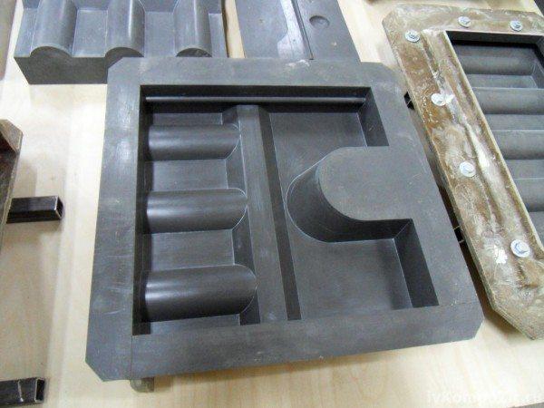 Пластиковая форма для бетонных элементов печи