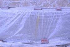 Пленка позволяет улучшить условия созревания бетона