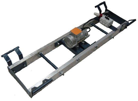 Подобное оборудование позволяет производить два процесса одновременно: уплотнение и выравнивание