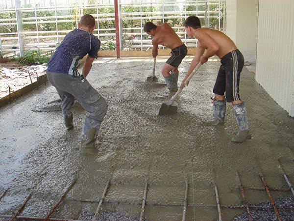 Как сушить бетон раствор строительный гост методы испытания
