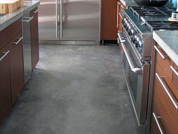 Покрытие под бетон на полу
