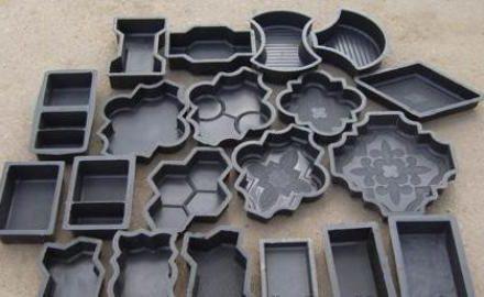 Полимерные формы разных видов и размеров