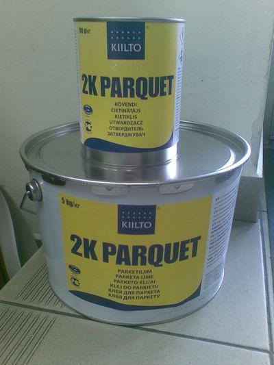 Полиуретановый двухкомпонентный клей для фанеры на бетонный пол
