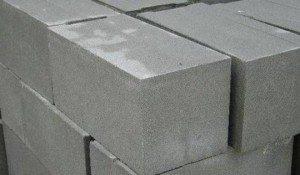 Полнотелые блоки из бетона