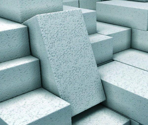 Пористые блоки из пенобетона