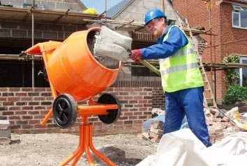 Приготовление бетона своими руками при строительстве дома