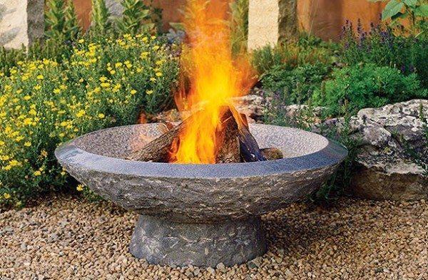 Применение подобных видов бетона в быту обычно ограничивается изготовлением каминов, печей или своеобразных декоративных элементов