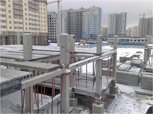 Применение в строительстве – создание многоэтажных конструкций