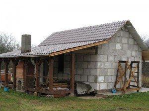 Пример готового здания