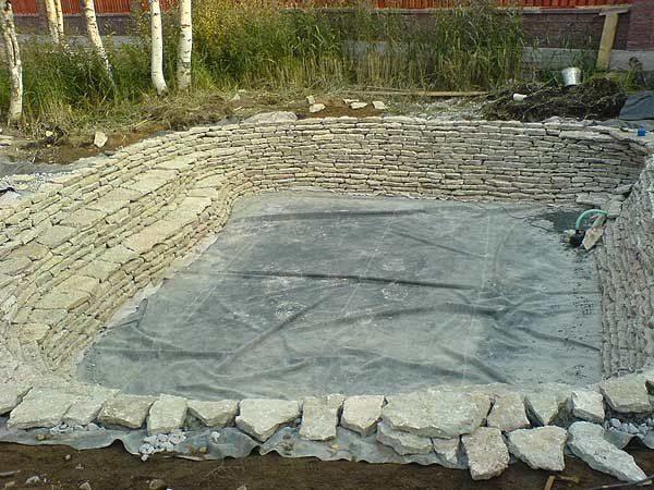 Пример облицовки песчаником