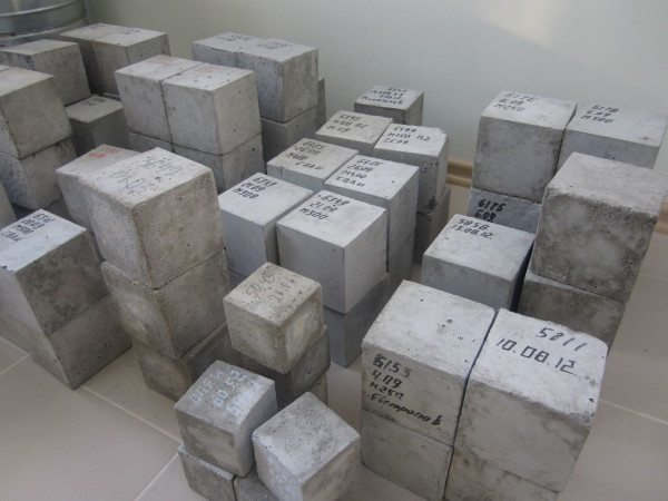 Примерно так выглядят кубики для лабораторного анализа