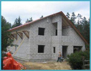 Принудительная вентиляция в доме из газобетона требуется, если строение имеет два и более этажа