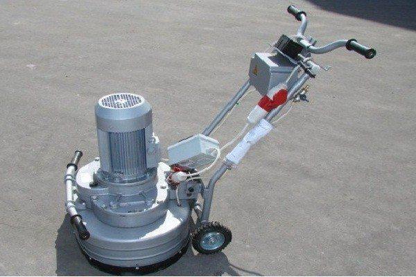 Профессиональная машина для шлифовки бетонного пола