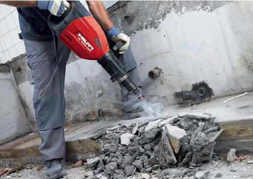 Профессиональное оборудование для демонтажа бетона