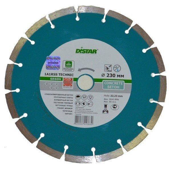 Профессиональный диск для работы с бетоном