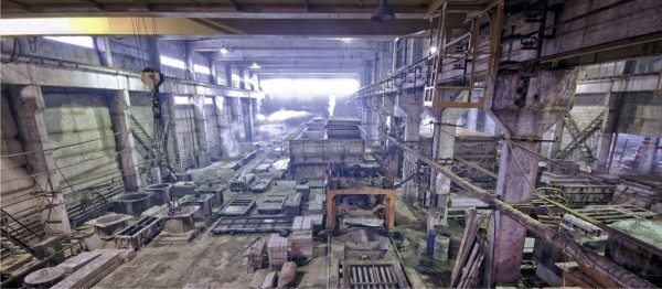 Производственный цех по изготовлению железобетонных изделий