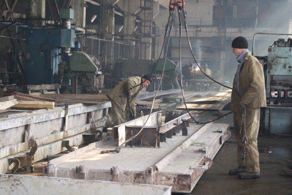 Производственный цех ЗЖБИ