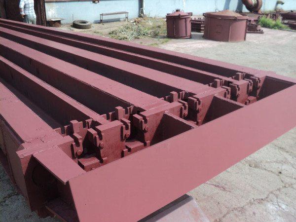 Промышленная форма для отливки стоек СВ110