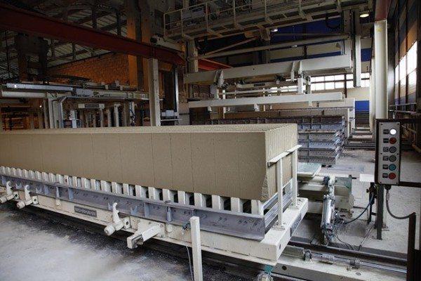 Промышленное изготовление блоков