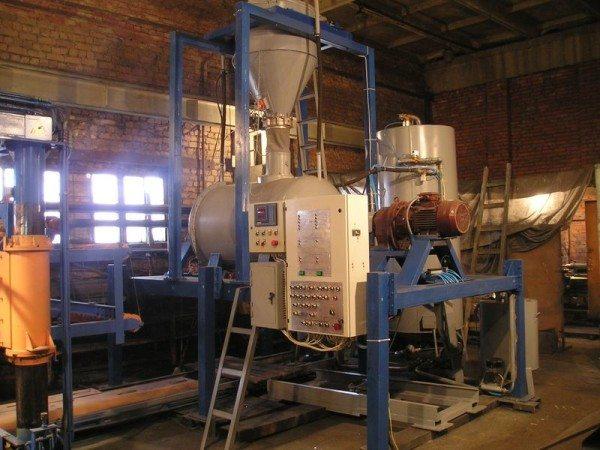 Промышленное оборудование для изготовления газобетона