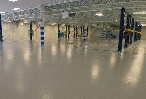 Промышленные беспыльные бетонные полы
