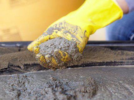 Пропорции бетона марки 400 зависят от качества компонентов