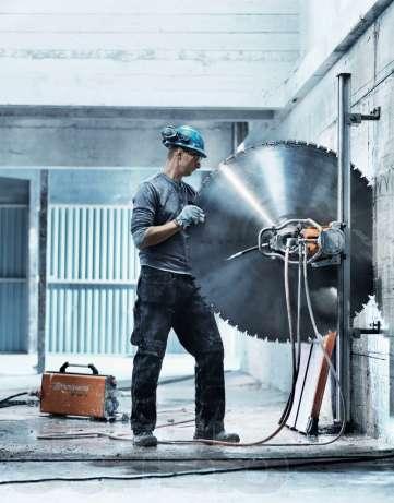 Прорезка проемов в бетоне профессиональным оборудованием