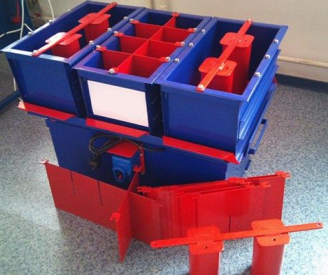 Простое оборудование для блоков