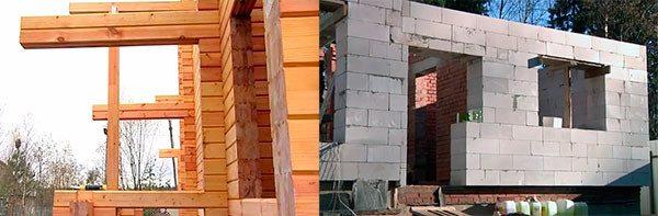 Процесс монтажа дома с использованием блоков считается более простым и на него тратится меньше времени и сил, что соответственно отражается и на стоимости