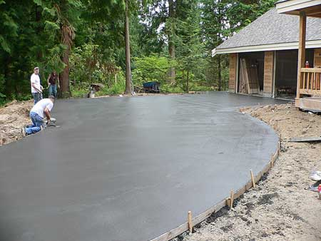 Процесс создания конструкций, которые будут возвышаться над уровнем грунта