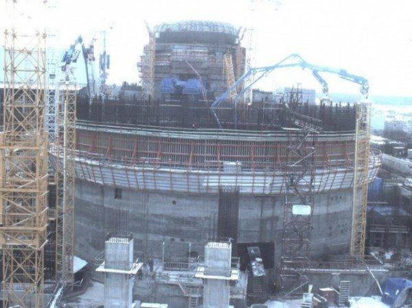 Процесс возведения энергоблоков АЭС