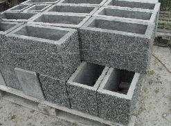 Пустотелые блоки из бетона