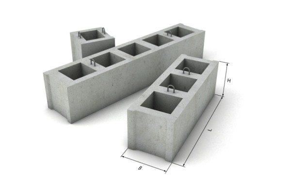 Пустотные фундаментные панели